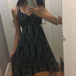 Pins and needles high low dress
